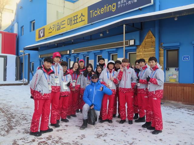 Mike Atkinson in PeyongChang