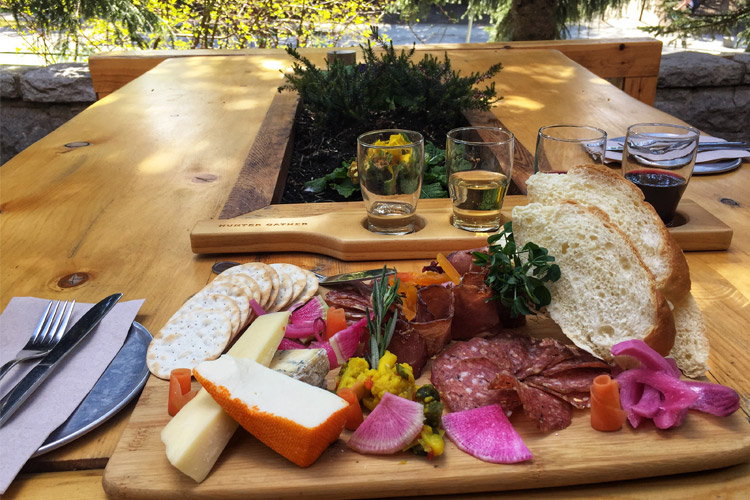 Hunter Gather Wine and charcuterie