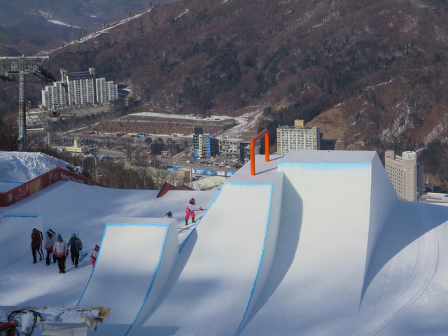 Winter Olympics 2018 Slope Style Course