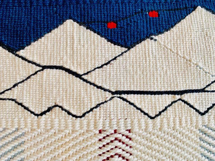 Wool Weaving of the Peak 2 Peak