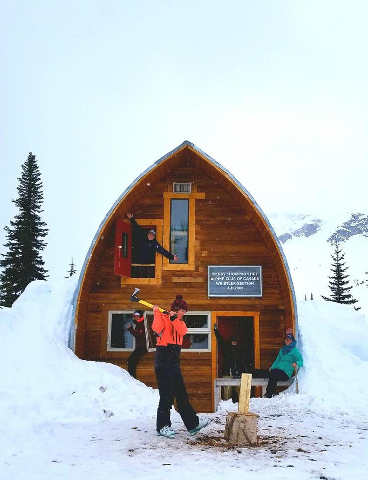 Wendy Thompson Hut in Whistler