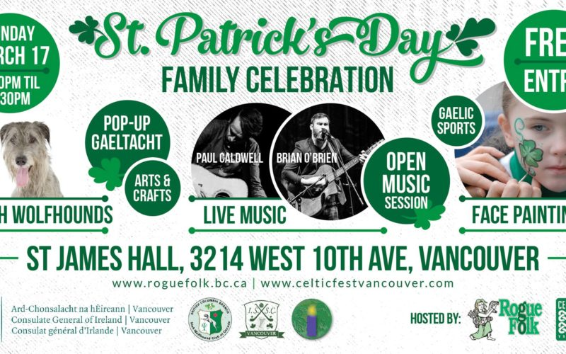 family celebration st patricks day vancouver 2019