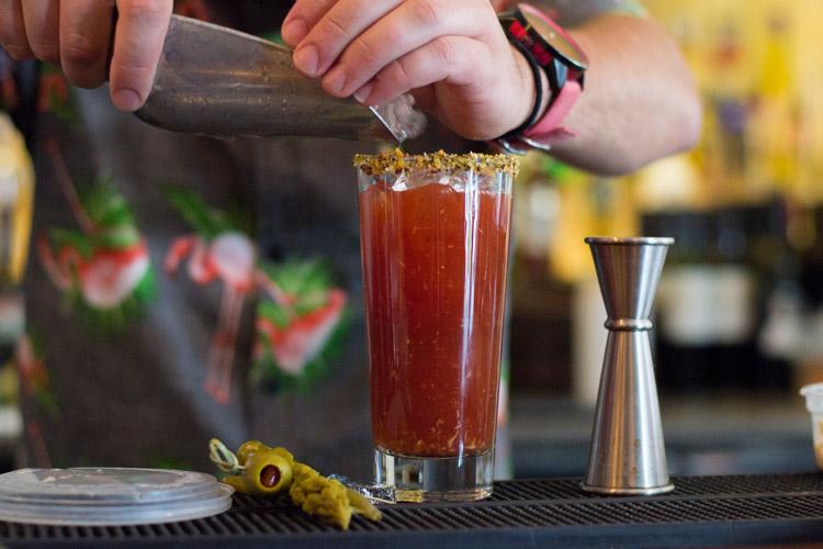 Stonesedge Whistler bartender serves up a Caesar