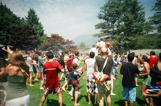 vancouver waterfight 2017
