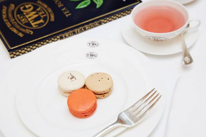 TWG tea Vancouver afternoon tea