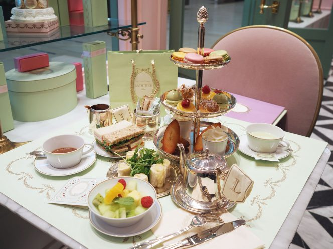 Vancouver Laduree afternoon tea