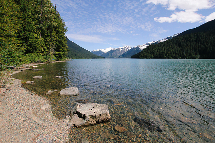 Cheakamus Lake in Whistler